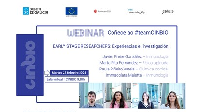 Segundo webinar dos early researchers