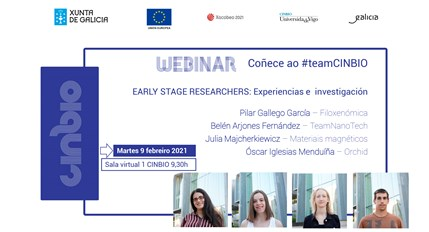 Primeiro webinar dos early researchers